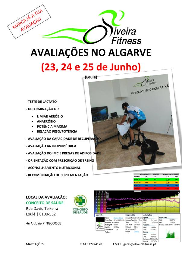 AVALIAÇÃO ALGARVE